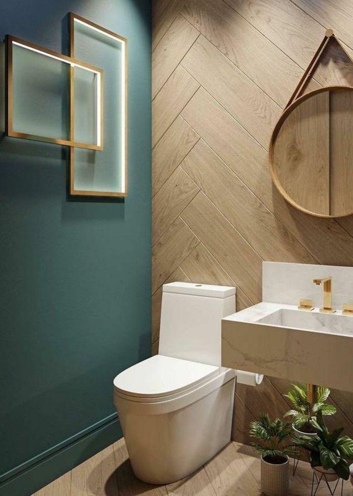 1001 Idées Pour Une Peinture Pour Toilettes Chic Et