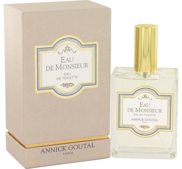 Eau de monsieur by the design house of annick goutal, is an unique blend of natrual, and rich aromas. This masculine scent is fresh with citrus hints, with amber, and musk. Eau de monsieur is recommended for daytime wear.