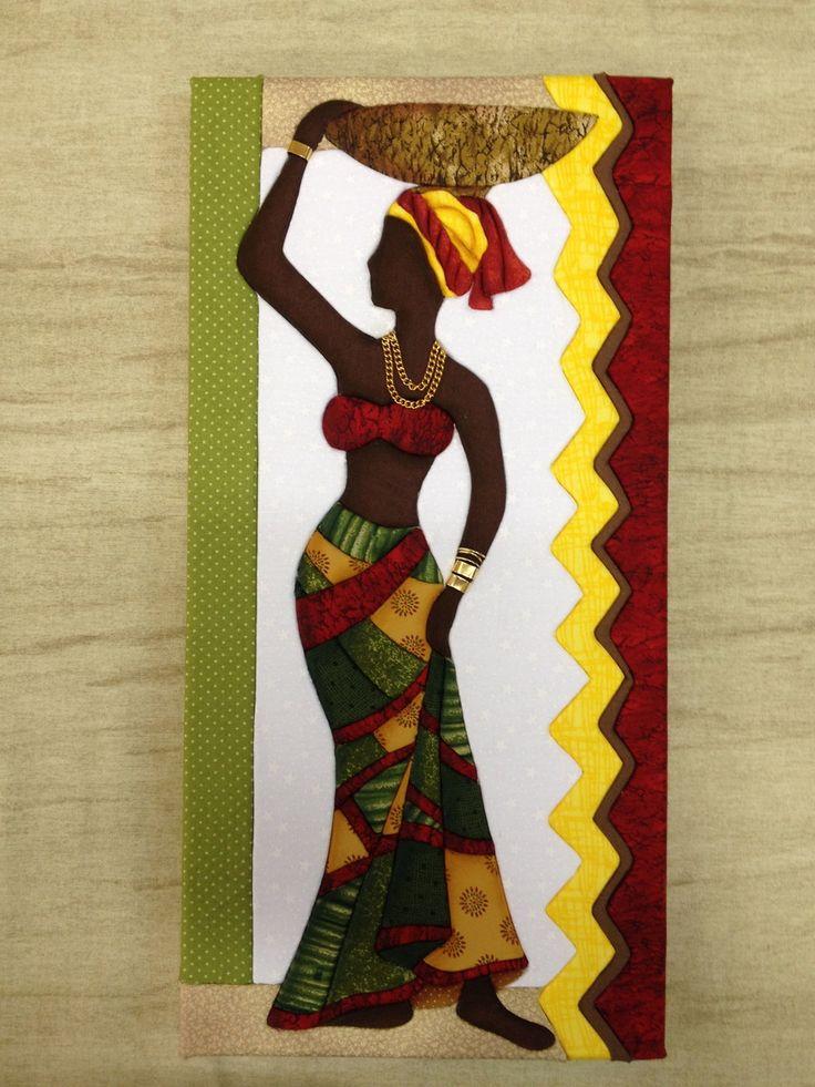 Projeto Carton Mousse Africana 2 | Mene Sena | Elo7