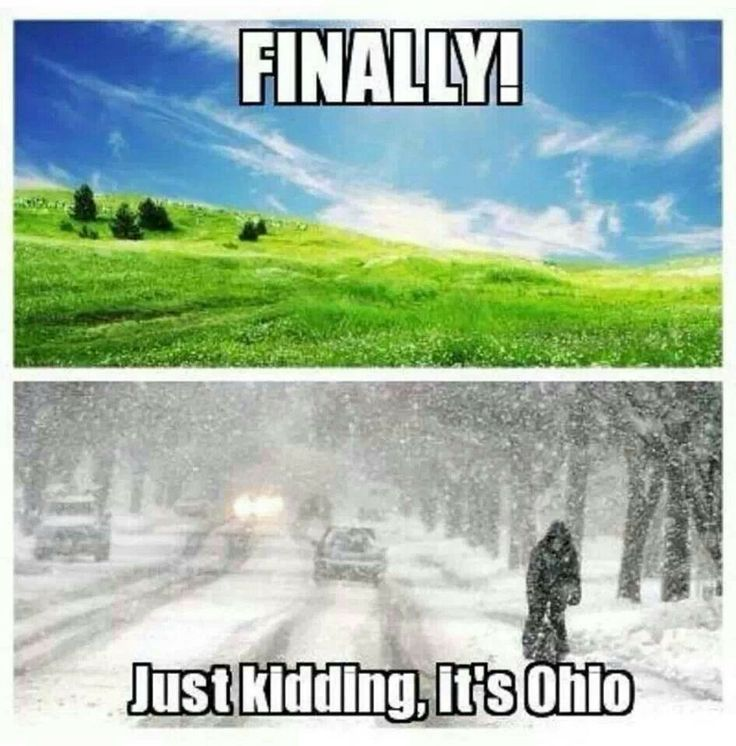 11 Downright Funny Memes You Ll Only Get If You Re From Ohio Ohio Memes Ohio Weather Upstate Ny Travel