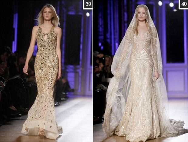 Glammed up Haute Couture Wedding Dress Inspiration - Zuhair Murad - fashion world and fashion show