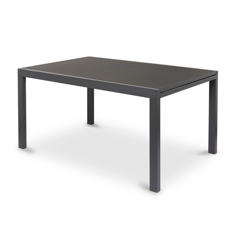 Sumatra Metal 4 Seater Extendable Dining Table - B&Q for all your home and garden supplies and advice on all the latest DIY trends