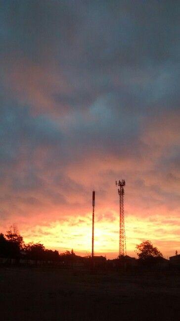 Un cielo colorido