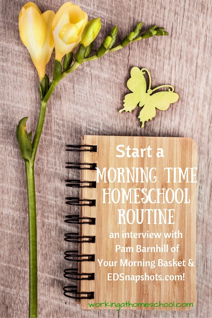 An awesome way to start your homeschool day - with something lovely! An interview with Morning Time expert Pam Barnhill.