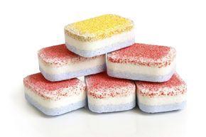 Pastiglie per lavastoviglie fatte in casa - Scoprite come realizzare in casa con facilità le tabs per la lavastoviglie.