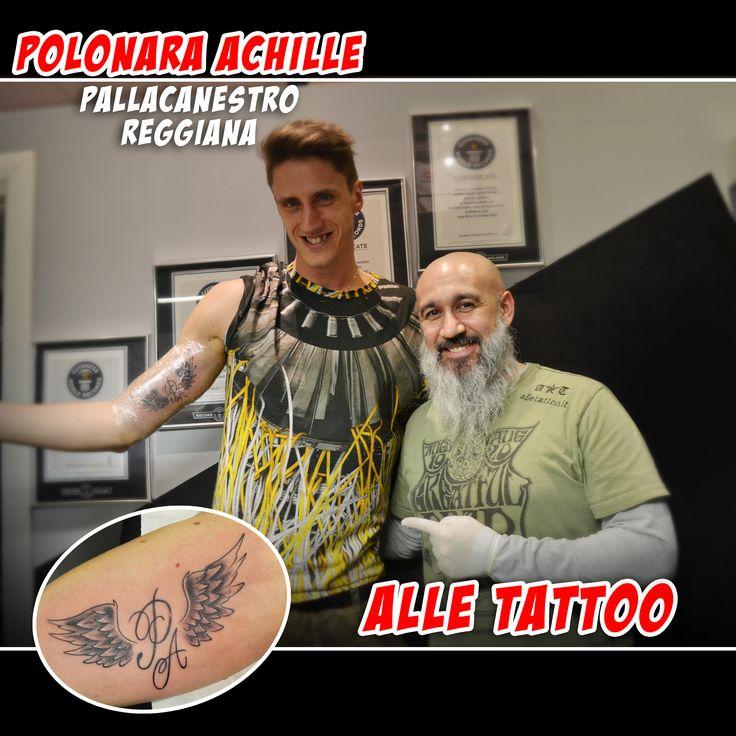 Oggi grande soddisfazioni a tatuare i miei amici della GrissinBon, Reggio Emilia