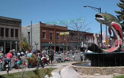 National Trout Festival Apr 25-29   Kalkaska, MI celebrate the heritage of our Natural Resources, Trout Fishing and Sportsmanship.    Midway, parades, flea market, fishing contest, idle contests, 5 k, kids fishing pond and more.  http://www.nationaltroutfestival.com/#!