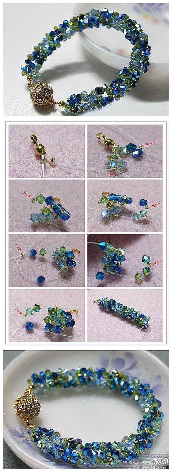 Pulseiras de miçangas