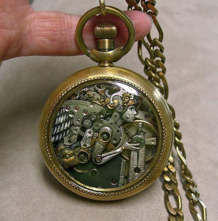 Steampunk watch on All Natural Arts - Sue Beatrice