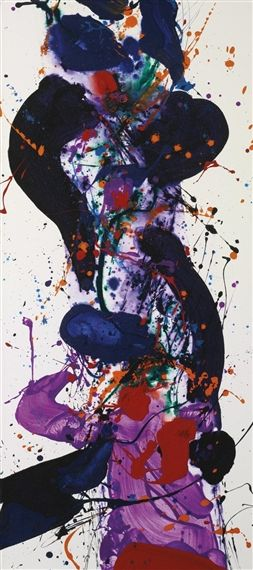 Sam Francis Completion Date: 1984 Style: Abstract Expressionism Genre: abstract