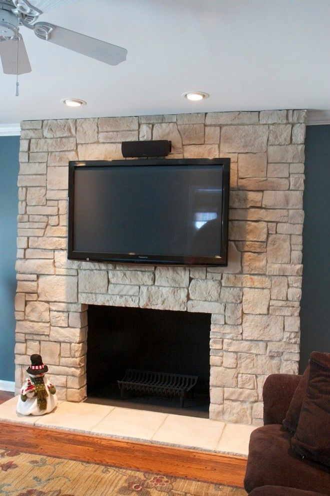 faux stone fireplace diy fireplace with faux stone for fireplaces ledge stone river rock stone