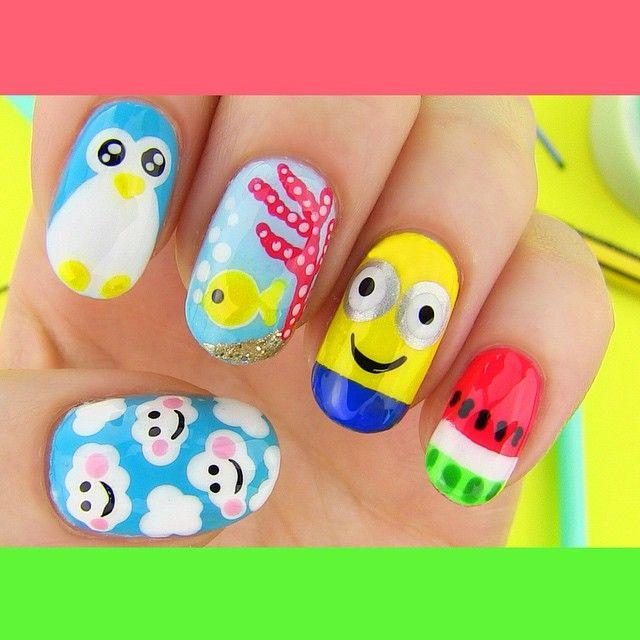 Sarabeautycorner Nail Art: 16 Best Sharpie DIY's Images On Pinterest