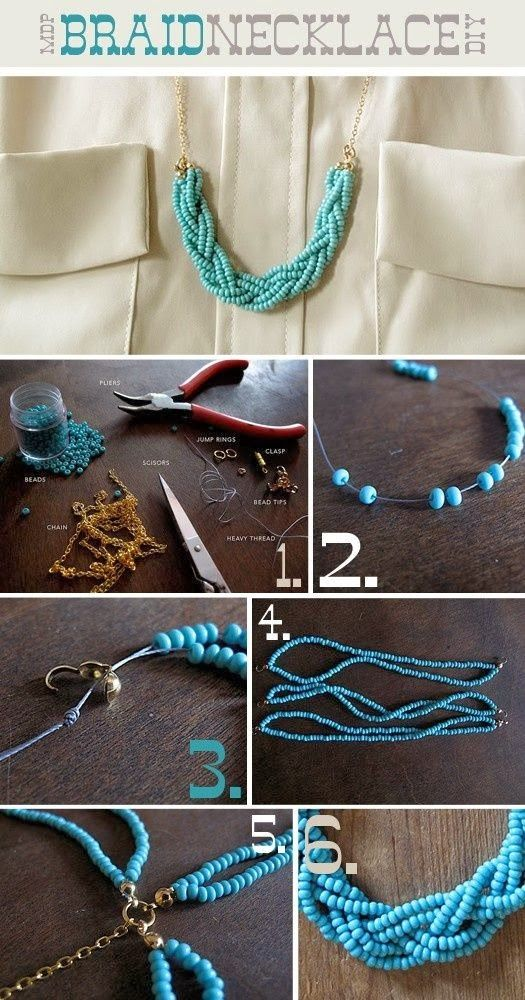#KatieSheaDesign ♡❤ ❥ Necklace ideas #Crafts