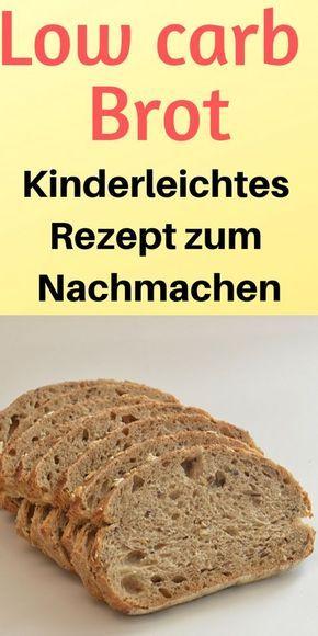 Low carb Brot (Rezept) – Sehr einfach und schnell zubereitet – pantary59