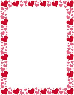 51 best heart borders images on pinterest writing paper rh pinterest com clipart heart border heart shaped border clip art