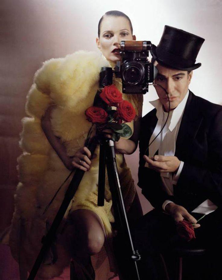 Kate Moss in British Vogue December edition 2013