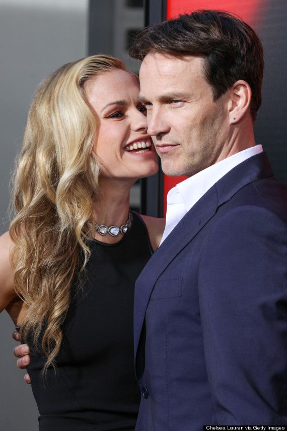 Anna Paquin and Stephen Moyer married in 2010.