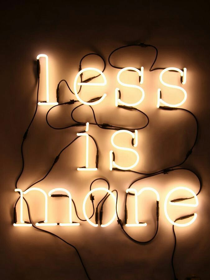 #less #more #lessismore #quote #quotation #motivational #motivation #inspiration #inspirational #neonart #neonlight #whitelight #light #wires #electricity #electric #lightbulb #bulb #interesting #compelling #swell #rad #awesomeneon #awesome #super #art