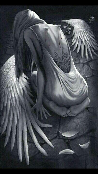 How I feel...The fallen, broken Angel
