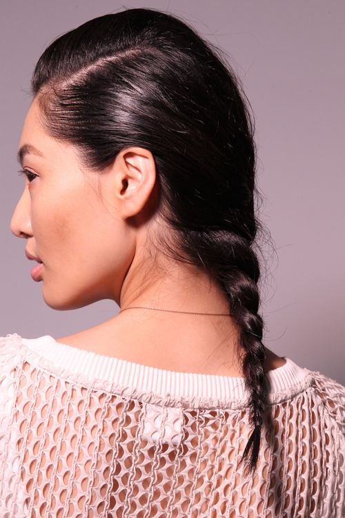 NYFW Get the Look: Braids at Peter Som SS'15