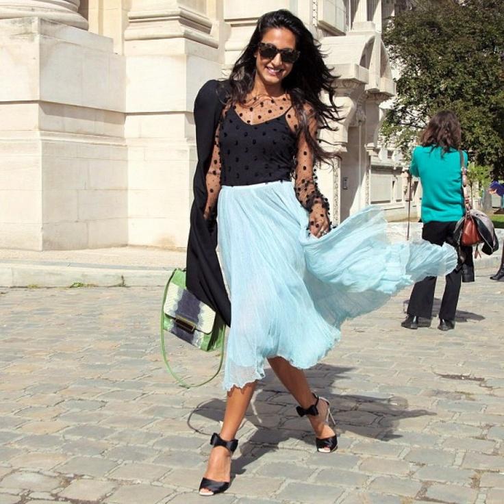 Ballerinaesque during Paris Fashion Week
