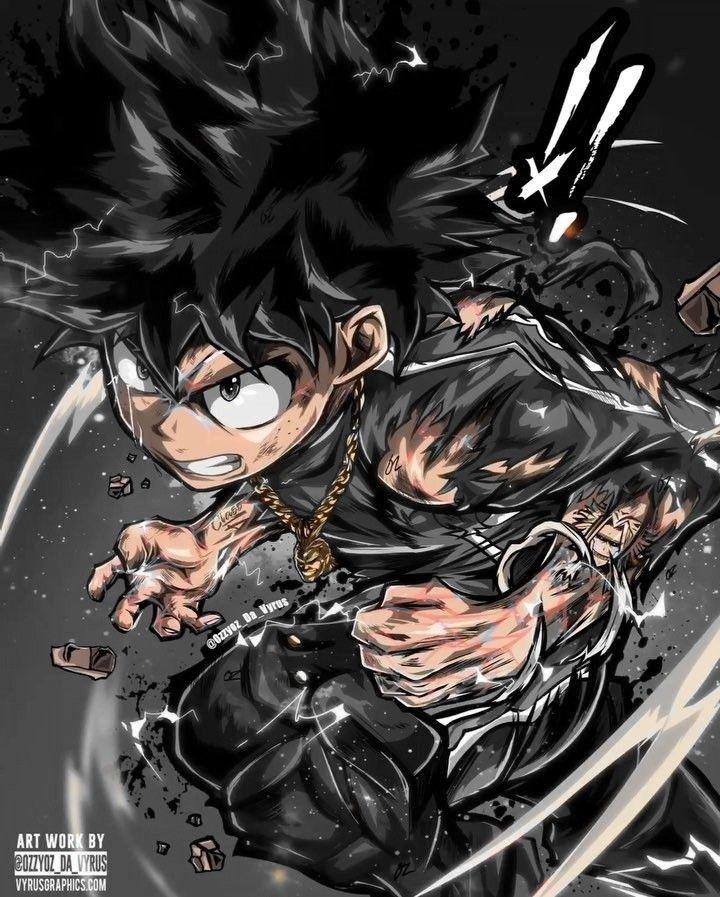 Deku Looks So Badass Hero My Hero Academia Manga My Hero