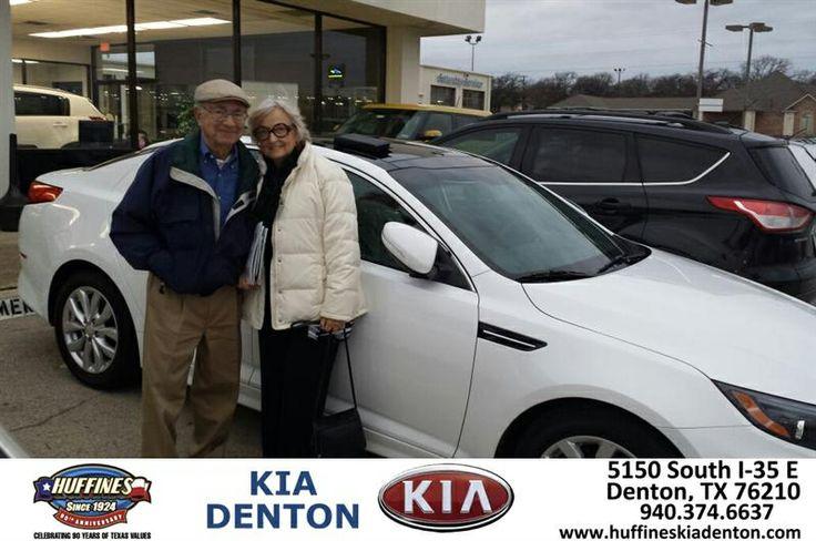 Congratulations to Veronica Cerralvo on your #Kia #Optima purchase from Andrew Gomes at Huffines KIA Denton! #NewCar