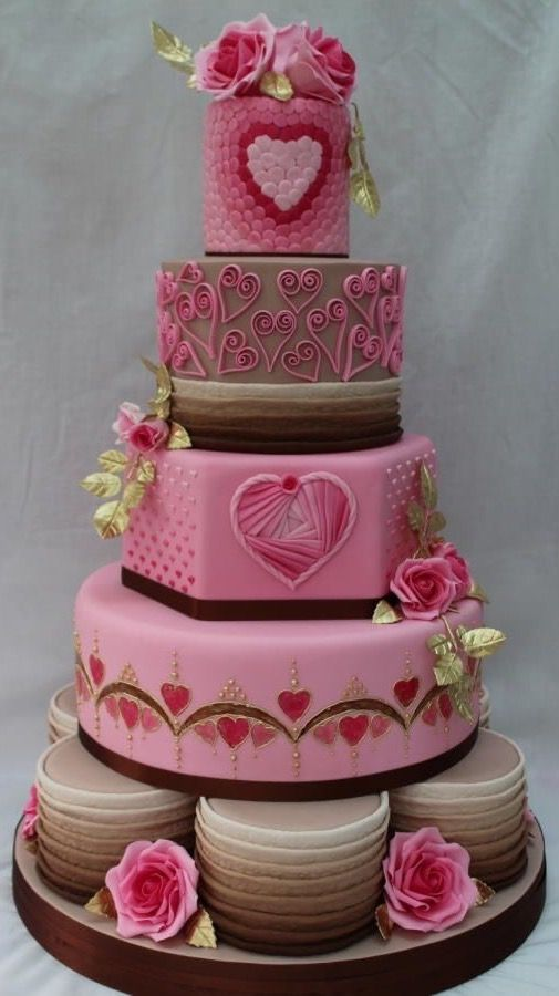 131 best A y A ❤ Pasteles images on Pinterest | Heart cakes ...