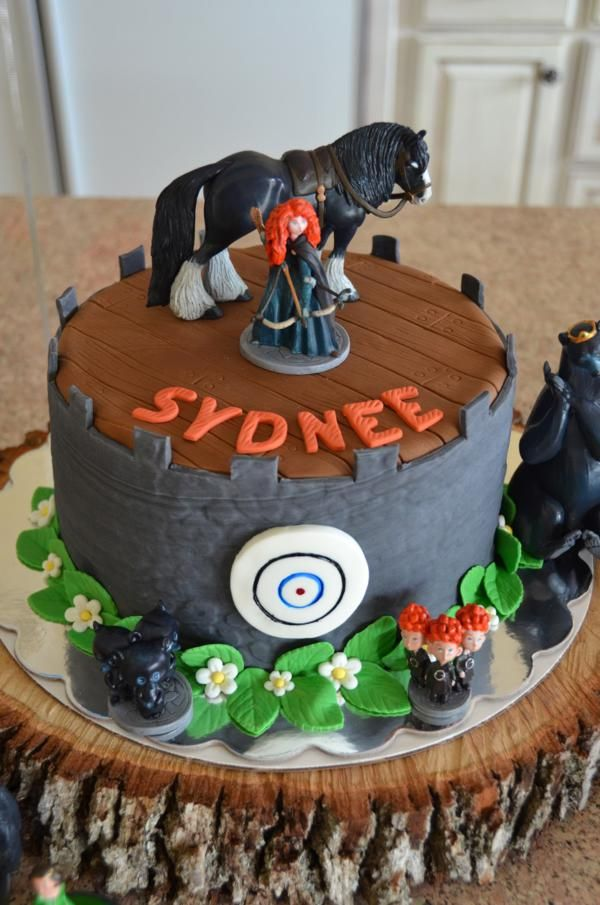 Disney's BRAVE themed birthday party via Kara's Party Ideas KarasPartyIdeas.com