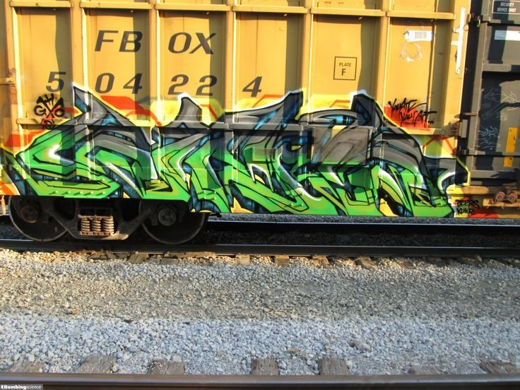 Graffiti Creator: Gits / Chicago / Freights Graffiti. Take a look at our gaffiti galleries by graffiti artists from around the world