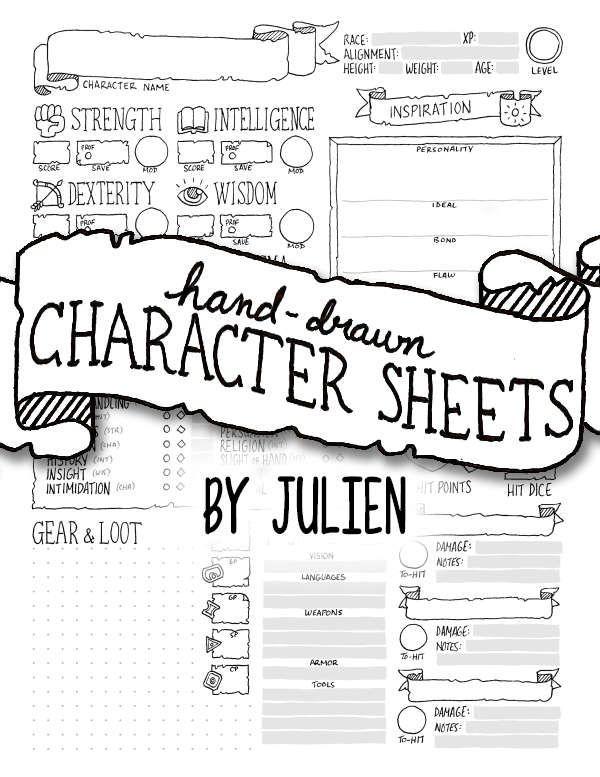 5e Character Sheet