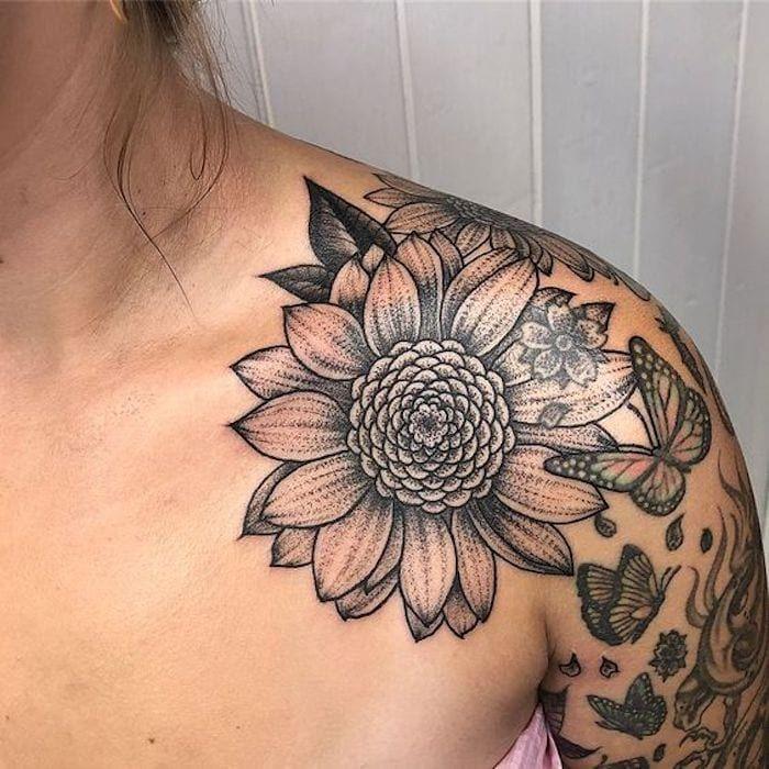 39 Fantásticas tatuagens femininas no ombro - Página 8 de 8 - 123 Tatuagens em 2020 | Tatuagens femininas no ombro, Tatuagem, Tatuagens