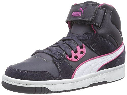 Puma Puma Rebound Street SD, Unisex-Erwachsene Hohe Sneakers, Grau (periscope-white-carmine rose 15), 46 EU (11 Erwachsene UK) - http://on-line-kaufen.de/puma/46-eu-puma-puma-rebound-street-sd-unisex-hohe