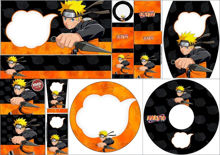 Naruto: Free Printable Candy Bar Labels. | Oh My Fiesta! for Geeks
