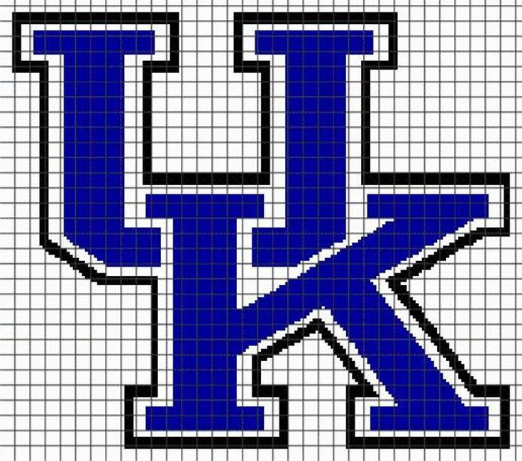 UNIVERSITY OF KENTUCKY Graphghan Pattern | Craftsy