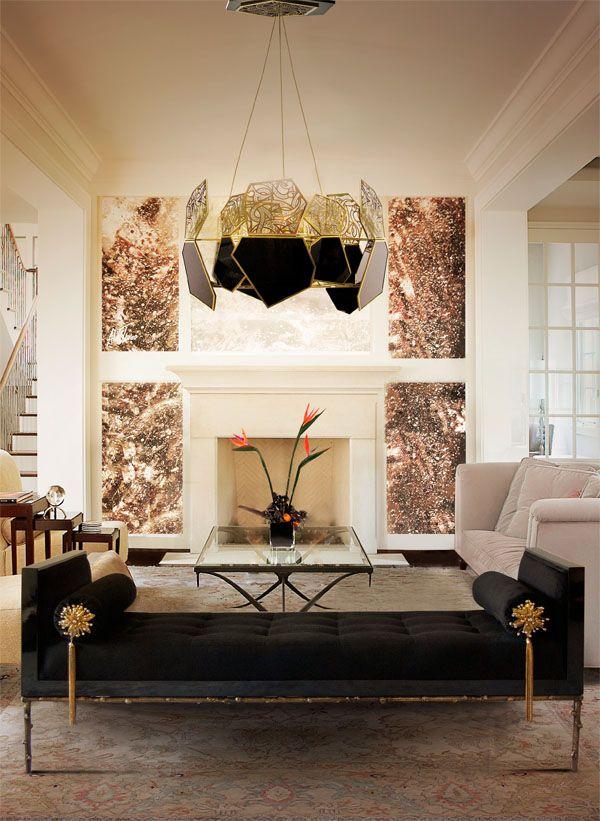 Brilhos da Moda: O Luxo e o Glamour na Decoração de Interiores
