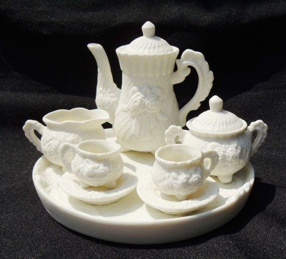 149 best vintage doll tea sets images on pinterest antique toys old fashioned toys and tin toys - Duktig tea set ...