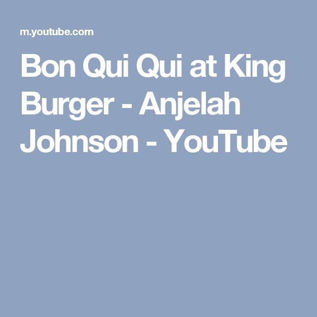 Bon Qui Qui at King Burger - Anjelah Johnson - YouTube