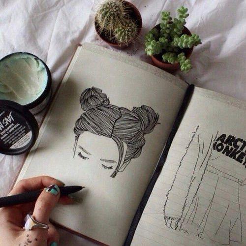 10 Idées de dessins pour filles : Cool et simple à faire | Astuces de filles