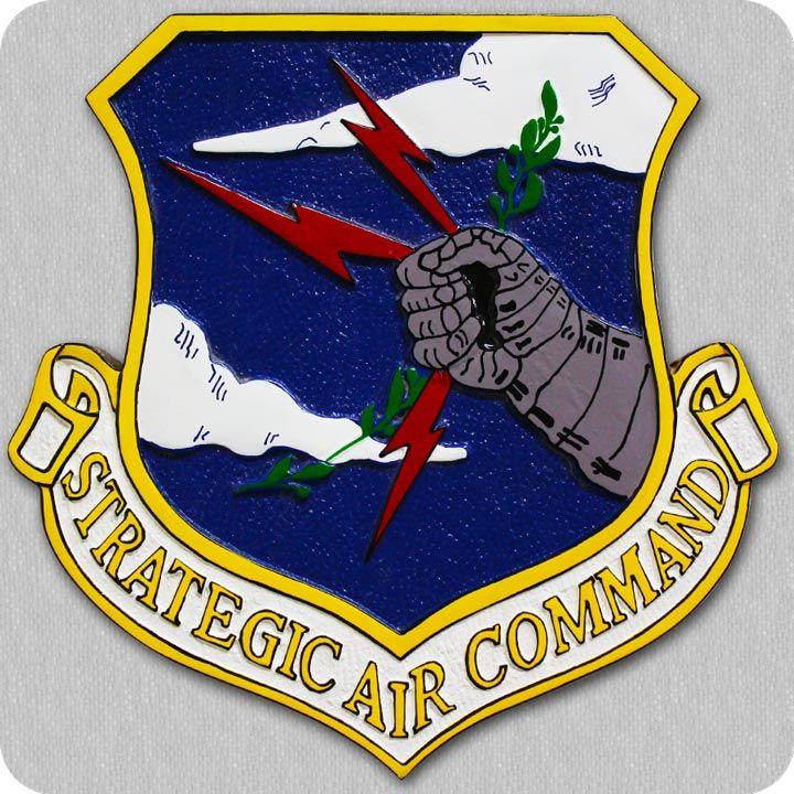 US Strategic Air Command Crest Plaque