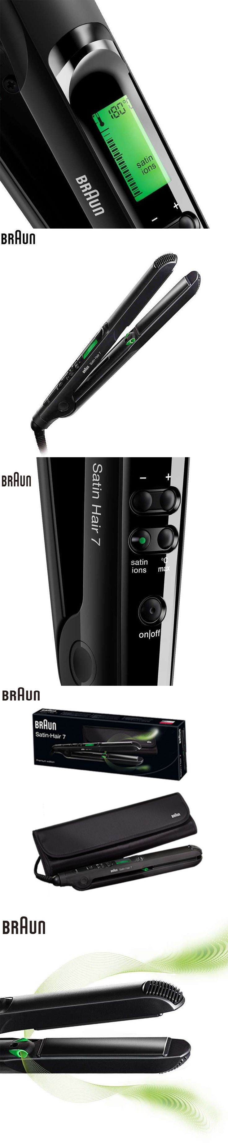 Braun ST730 Hair Curler & Straightener Hair Roller Curling Wand Hair styling tools Hair Protector