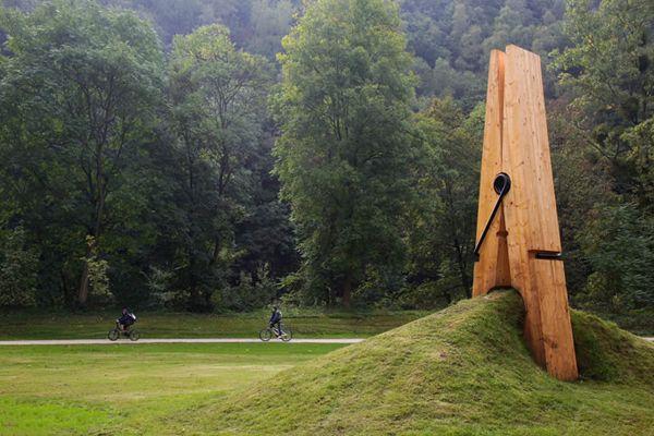 Ha!Artists, Street Art Utopia, Streetartutopia, Parks, Belgium, Installation Art, Art Sculptures, Public Art, Clothespins