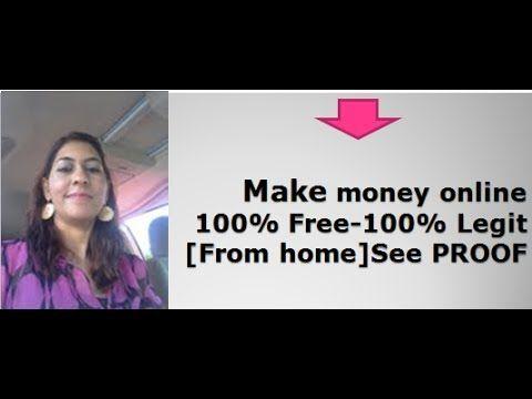 100% free online money making