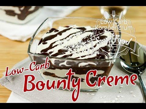 Bounty Creme - Das Low-Carb Dessert passend zum Low-Carb Bounty