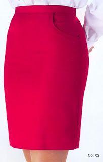 COSTUR@NDO: patron bàsico falda recta