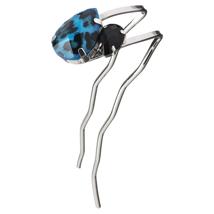 Amira Hair stick  The Amira Hair Stick makes a sassy day-to-evening piece; showcase with loose hair or a sleek chignon.
