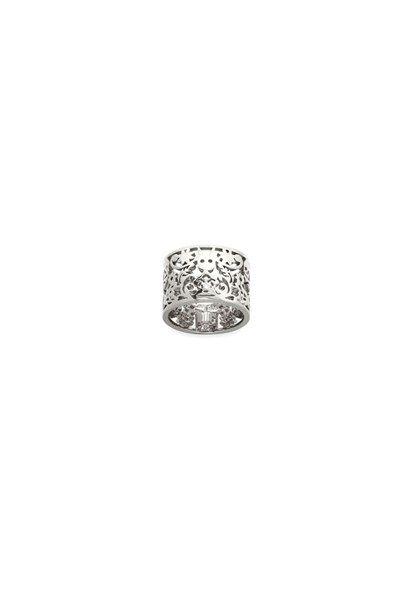 Filigree Ring Silver 15mm $269