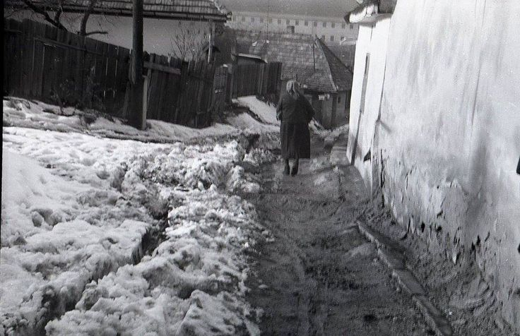 Út viszonyok a Szent Tamás hegyen 1975
