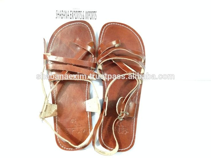 Check out this product on Alibaba.com App:cute sandals for summer Women flat jesus sandal shoe brown leather and classic style https://m.alibaba.com/i6beIj