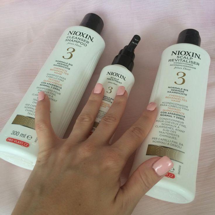Markéta Volfová: Zázrak na padání vlasů: Nioxin